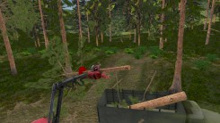 Скриншот: Forest Harvester Simulator - 1