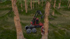 Скриншот: Forest Harvester Simulator - 2