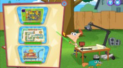 Скриншот: Phineas and Ferb: New Inventions - 0